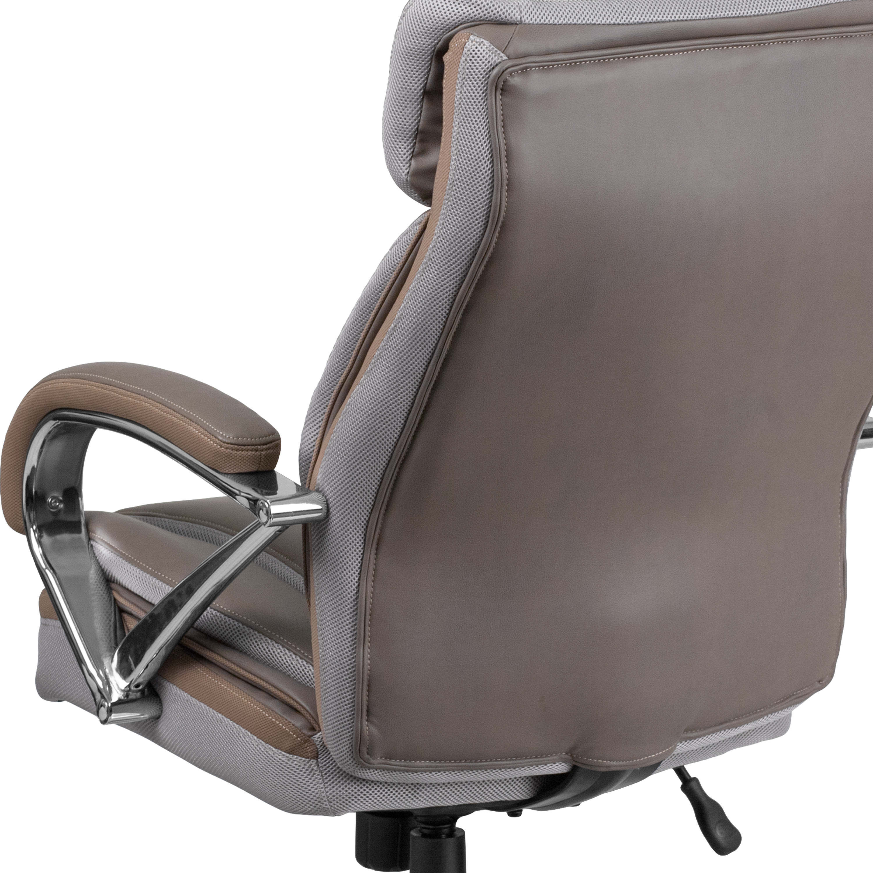 500 Lb Big Tall Leathersoft Executive Ergonomic Office Chair With Wide Seat Ebay