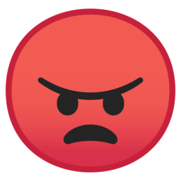 Image result for angry face emoji
