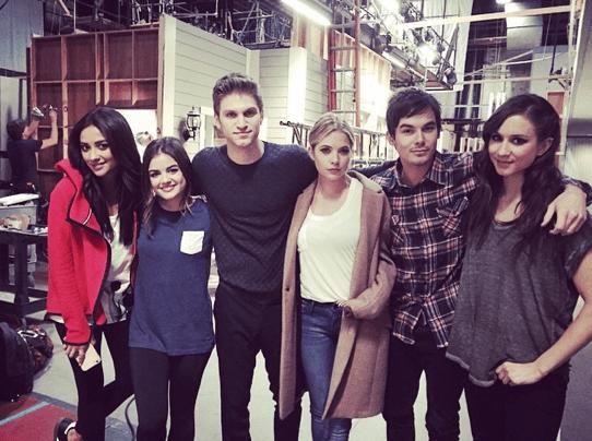 Image result for season 5 pll cast