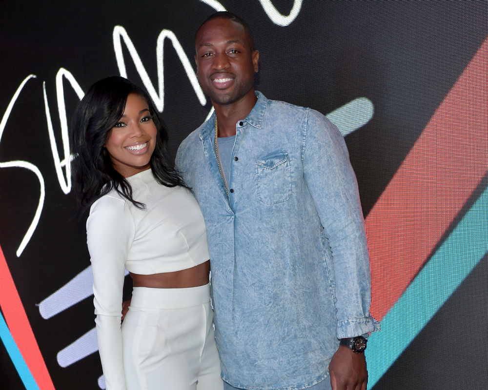 Image result for gabrielle union and dwyane wade 2016 october