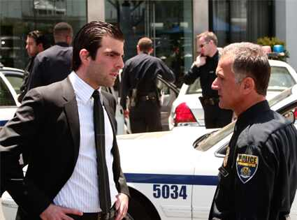 HEROES One of Us, One of Them Episode 303 Zachary Quinto