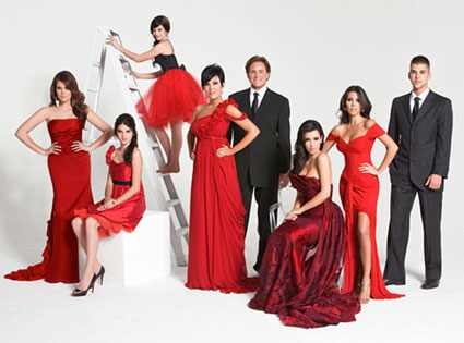 Kardashian Holiday Card