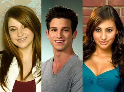 The Secret life of the american teenager, Shailene Woodley, Daren Kagasoff, Francia Raisa
