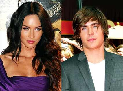 Megan Fox, Zac Efron