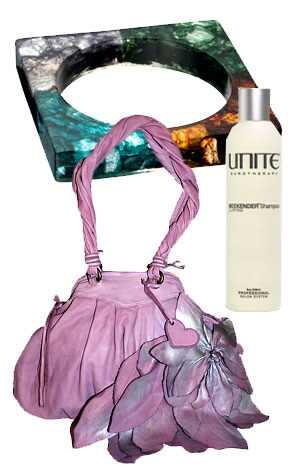 My Jewelry Box Bangle, Moni Moni Bag, Unite Weekend Shampoo