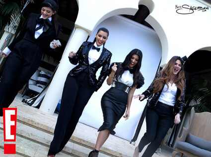 Kim Kardashian, Kourtney Kardashian, Kylie Jenner, Khloe Kardashian