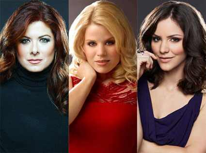 Smash, Katharine McPhee, Megan Hilty, Debra Messing