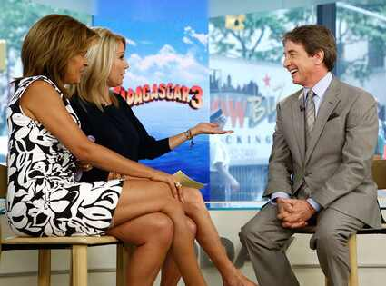 Hoda Kotb, Kathy Lee Gifford, Martin Short, Today Show