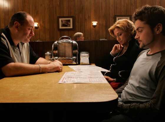 James Gandolfini, Edie Falco, Robert Iler, The Sopranos