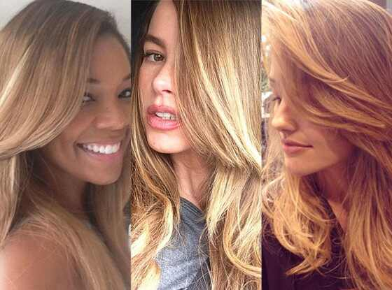 Gabrielle Union, Sofia Vergara, Minka Kelly, Instagram, Blonde