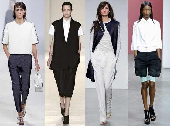 Boyish Tailoring Trend, Fashion Week