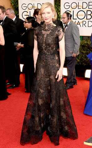 Cate Blanchett, Golden Globes