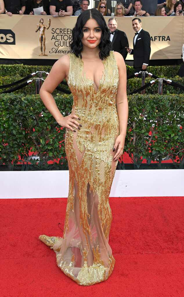 2017 SAG Awards: Red Carpet Arrivals Ariel Winter, 2017 SAG Awards, Arrivals