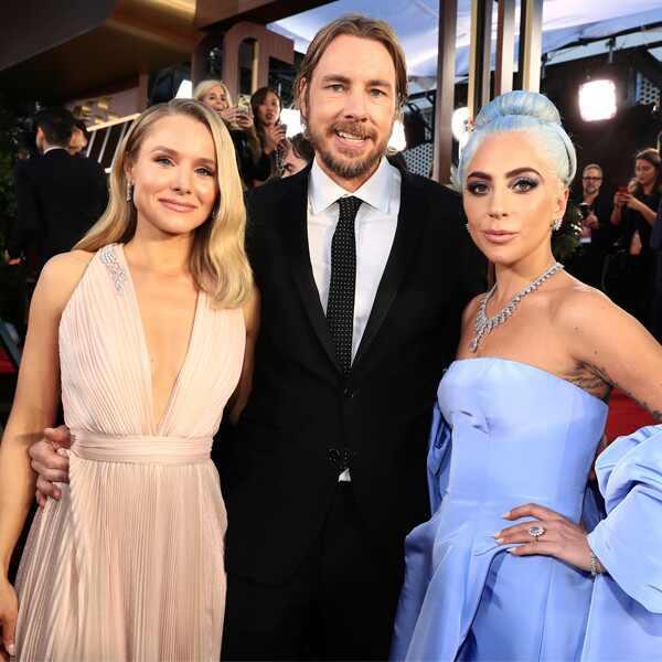 Kristen Bell, Dax Shephard, Lady Gaga, 2019 Golden Globe Awards, Golden Globe Awards