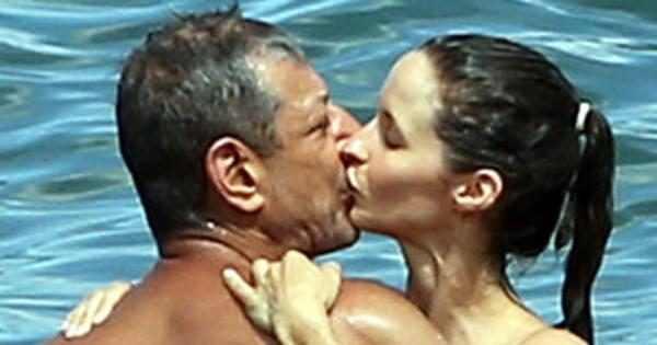 Newly Engaged Jeff Goldblum And Fiancée Emily Livingston