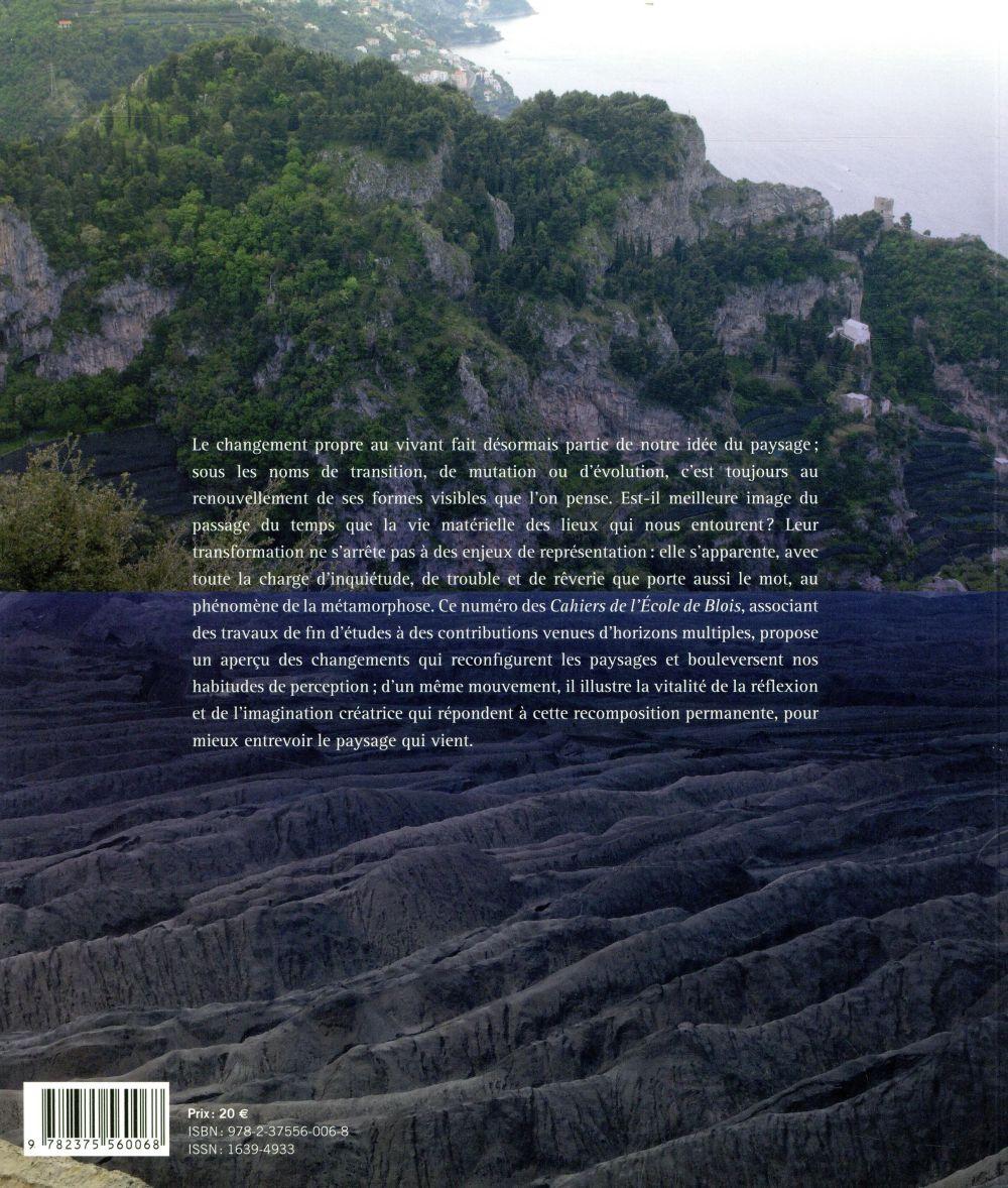 les cahiers de l ecole de blois t 16 metamorphoses collectif la villette grand format espace culturel leclerc st leu