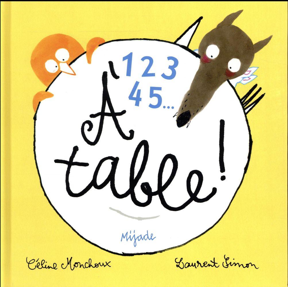 1 2 3 4 5 à table !