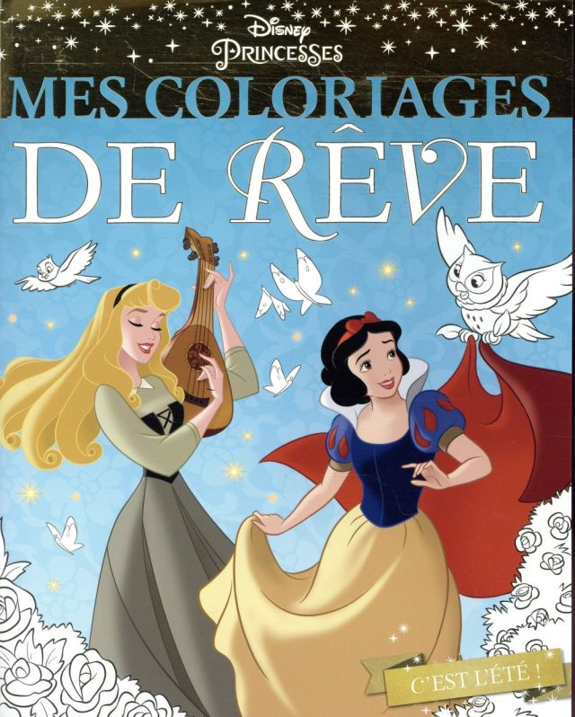 Mes coloriages de rêve ; Disney Princesses - Disney - Disney