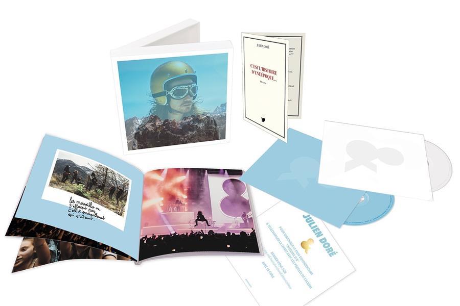 Julien Dore Sony Music Catalogue Cd 12cm Lp Librairie Cheminant Vannes