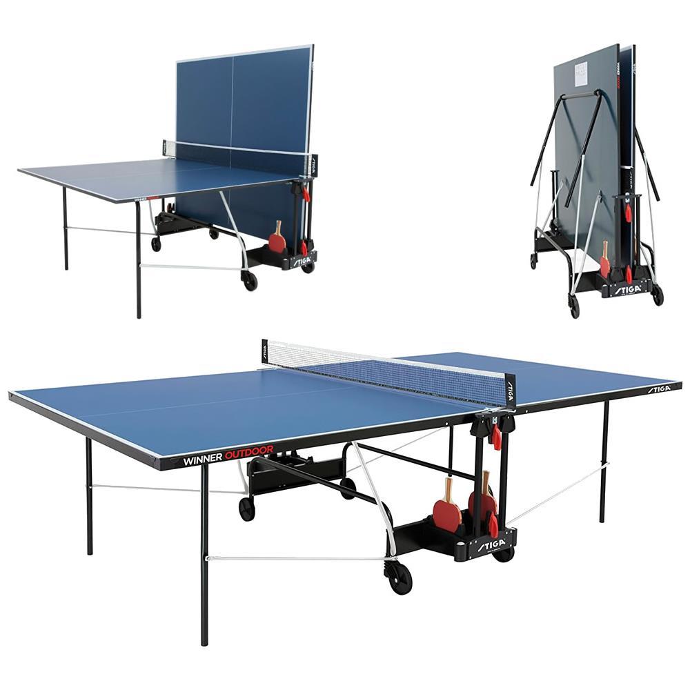 Stiga Tavolo Ping Pong Da Esterno C 7169 00 Winner Outdoor Blu