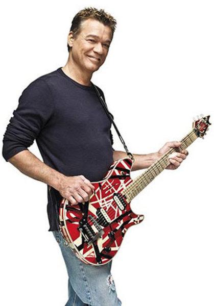 Eddie Van Halen's EVH Wolfgang Special Striped Series