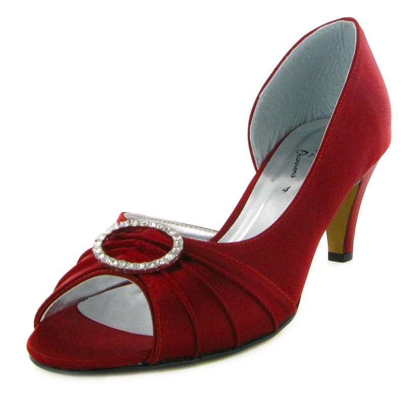 Burgundy Wedding Shoes
