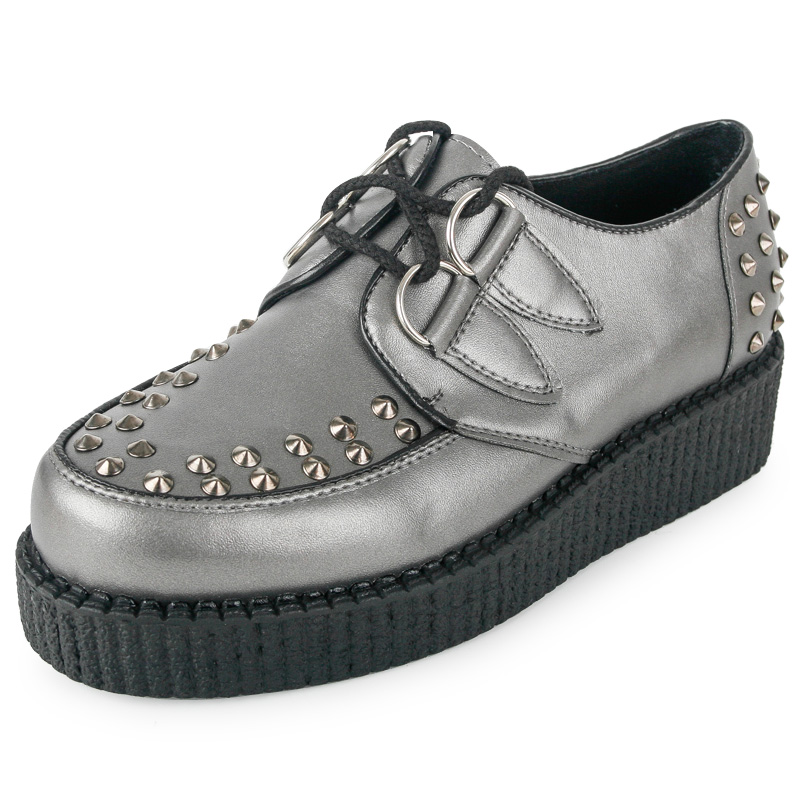 Chaussure Plateforme Style Creepers