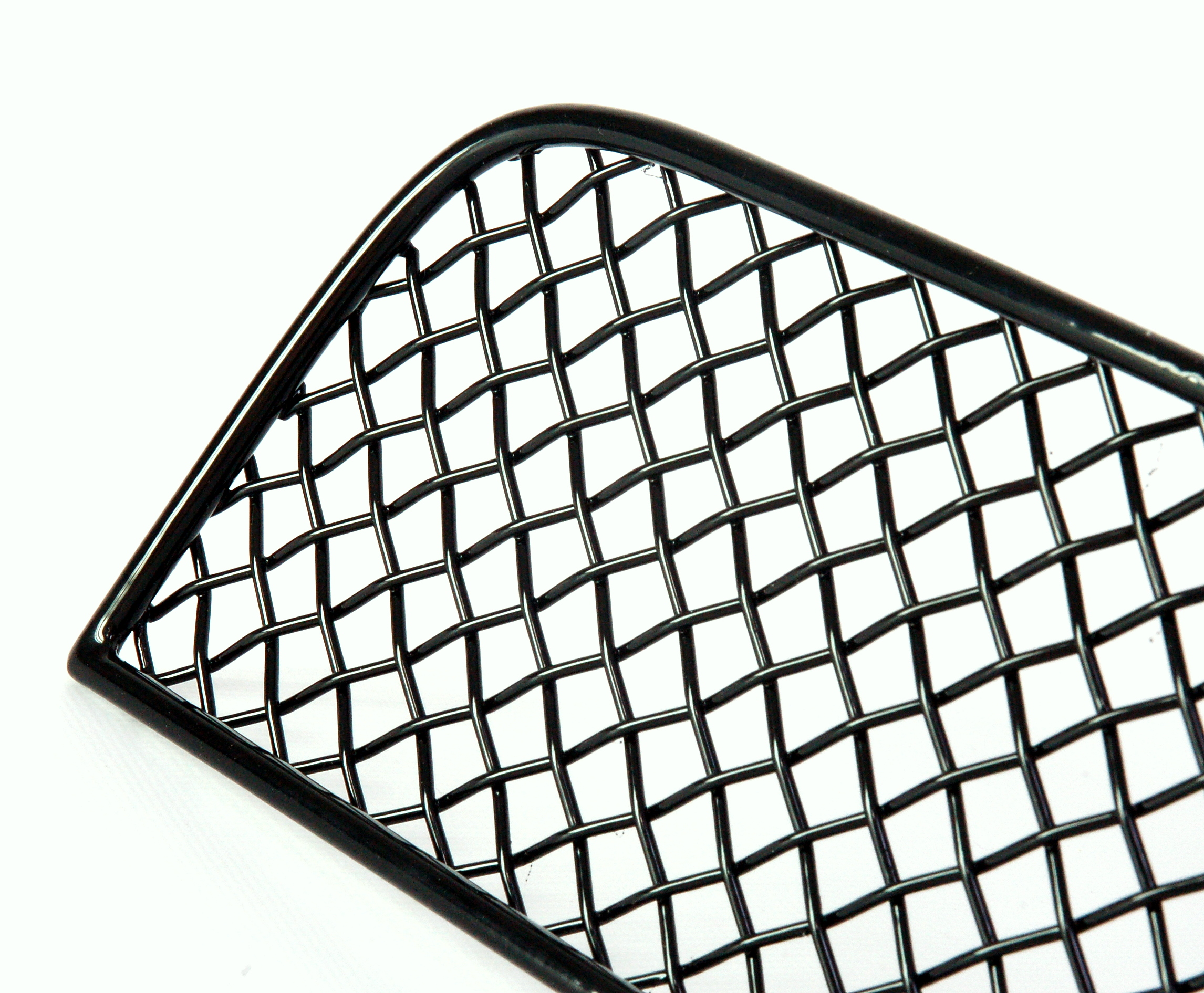 Black Front Bumper Wire Mesh Grille For Range Rover Sport Grill New