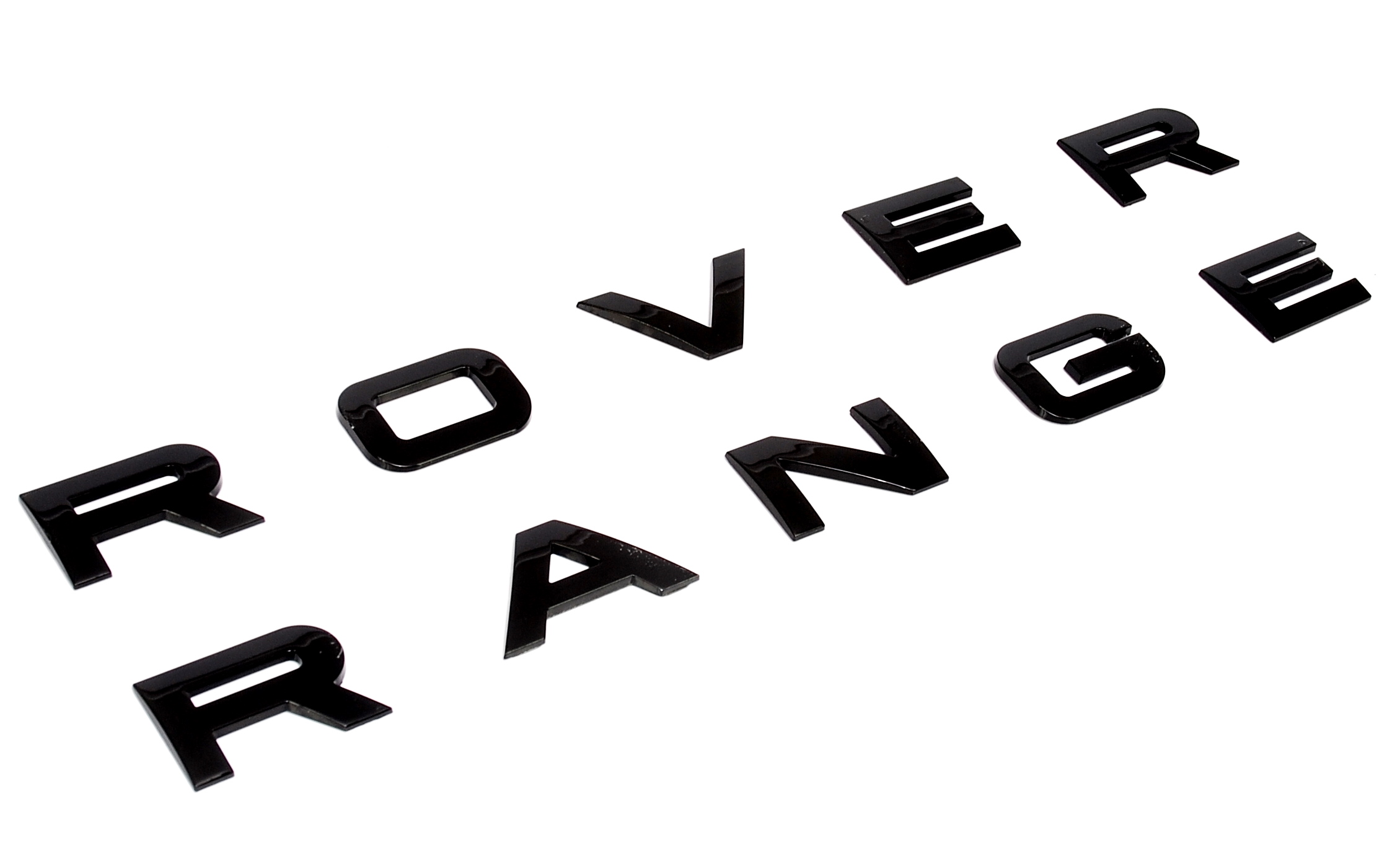 Gloss Black rear tailgate lettering for Range Rover L322 vogue hse
