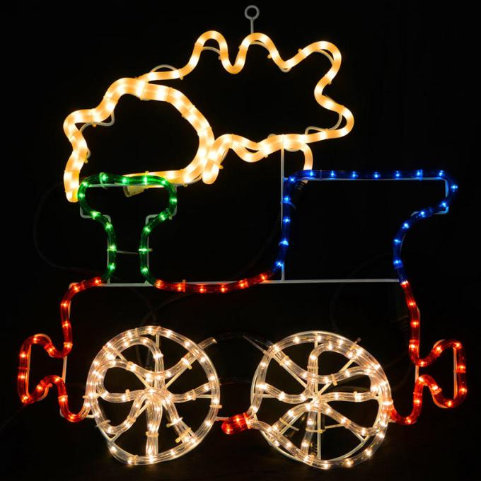 light up train outdoor christmas decoration christmaswalls co - Christmas Train Yard Decoration