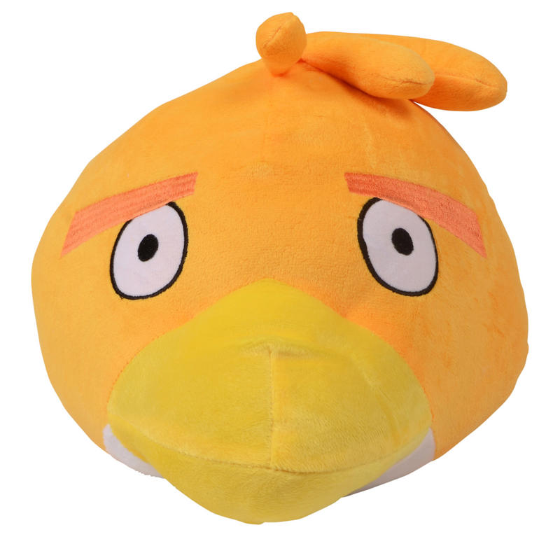 Plush Orange Birds Toys