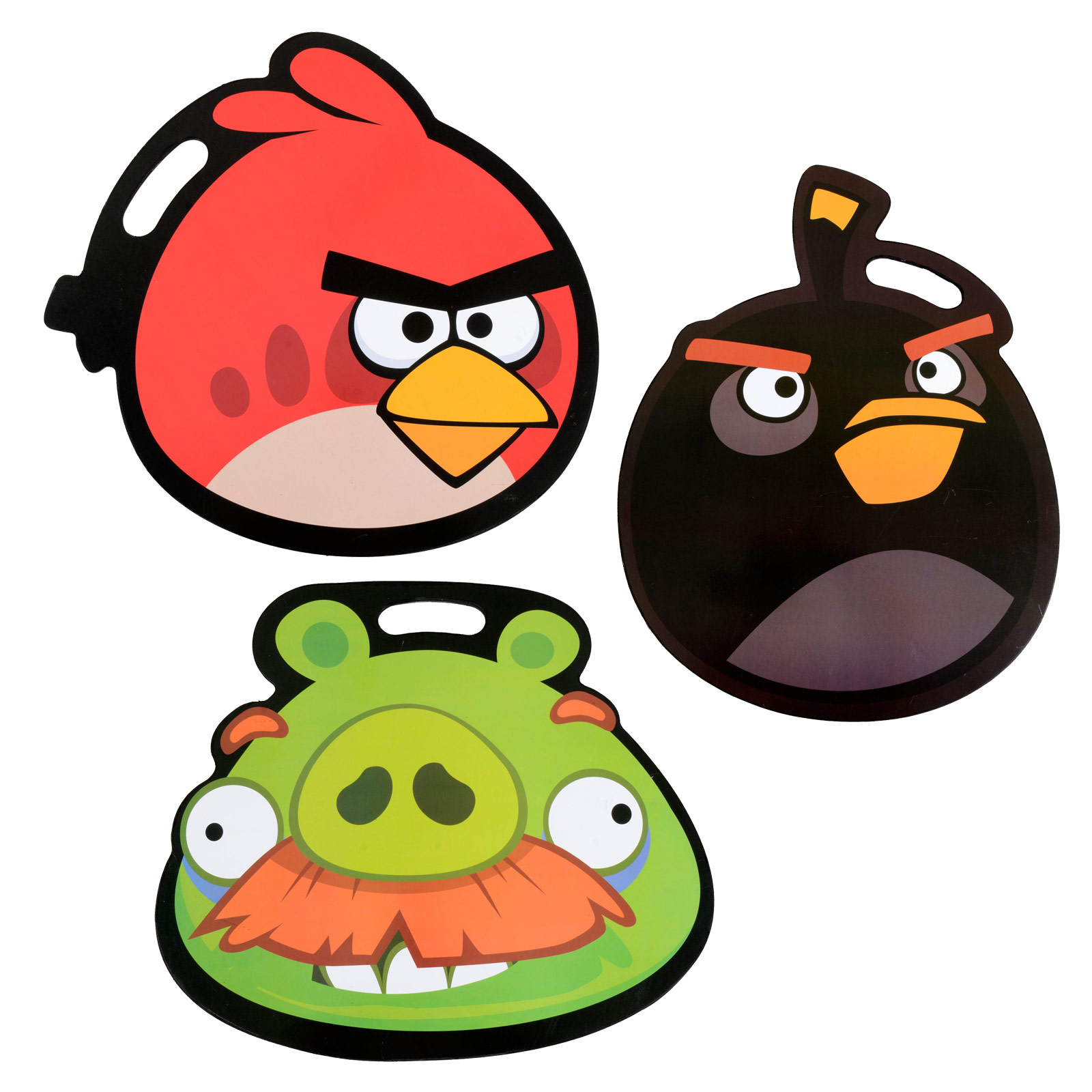 Angry Birds Cushioned Lap Desk Homework Writing Reading
