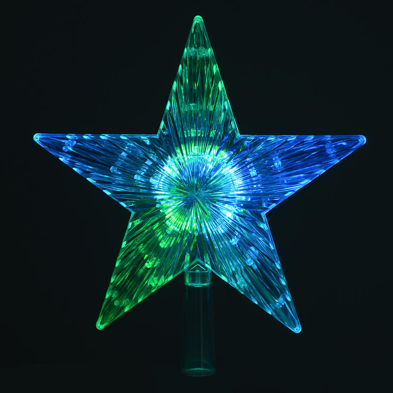 Christmas Tree Star Topper Lights