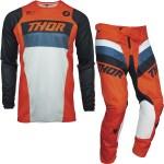Thor Pulse Racer Motocross Jersey Pants Orange Midnight Kit New Arrivals Ghostbikes Com