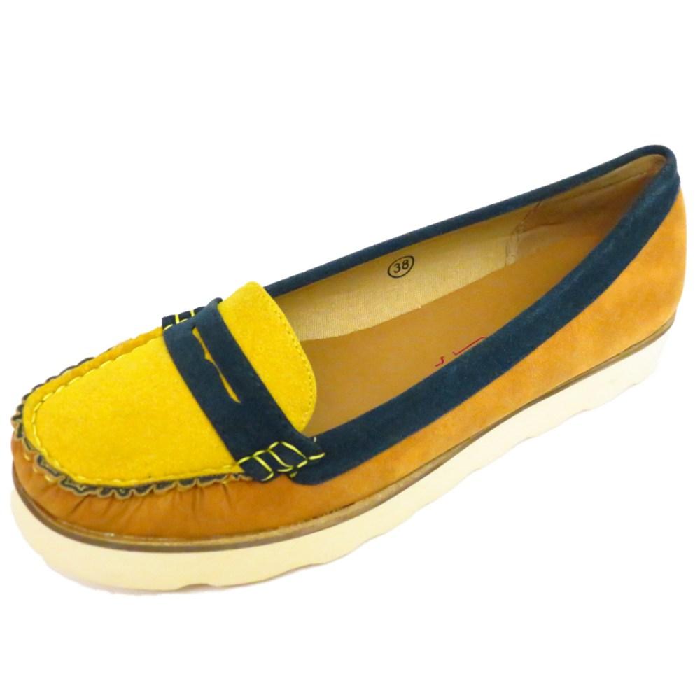 Tan Deck Shoes