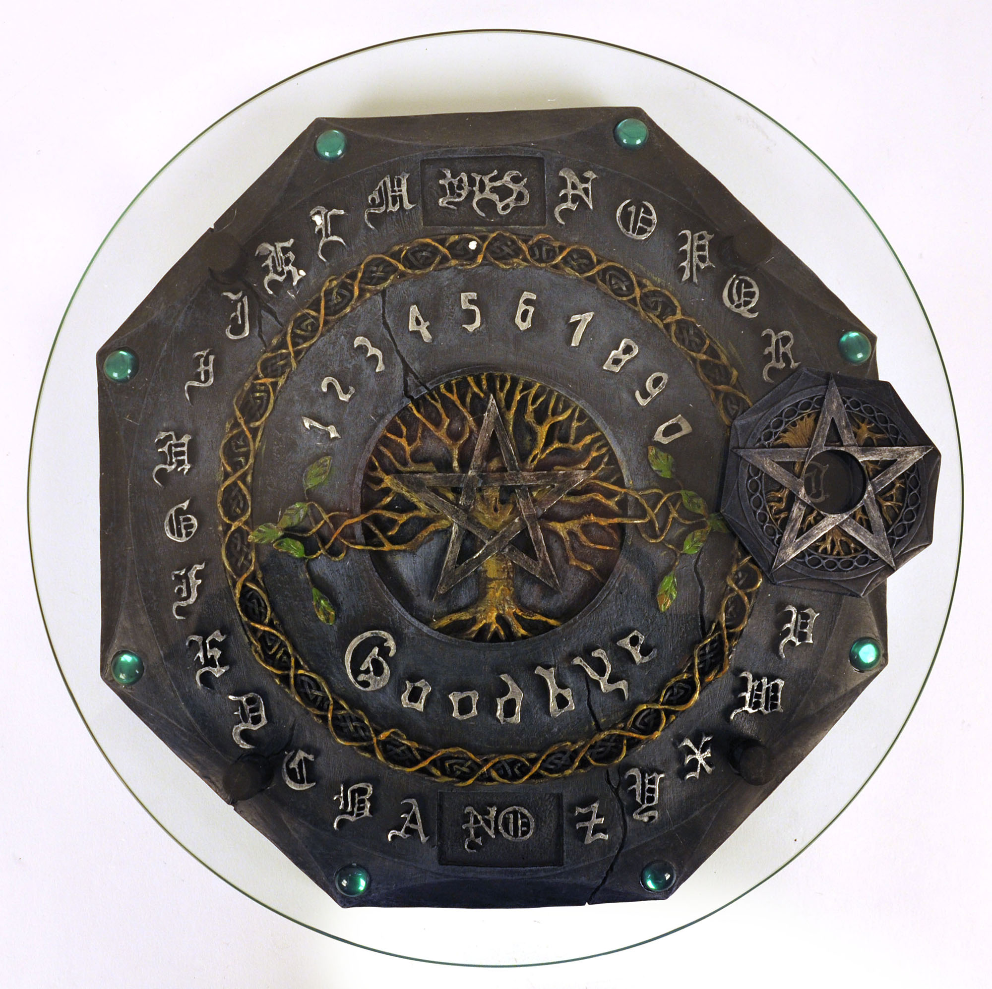 Ouija Board Gothic Deluxe With Plate Glass Pink Cat Shop