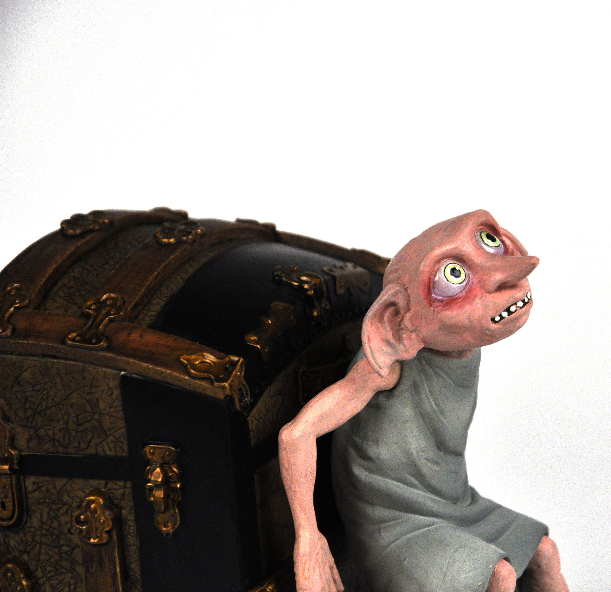 Harry Potter Dobby Bookend Pink Cat Shop