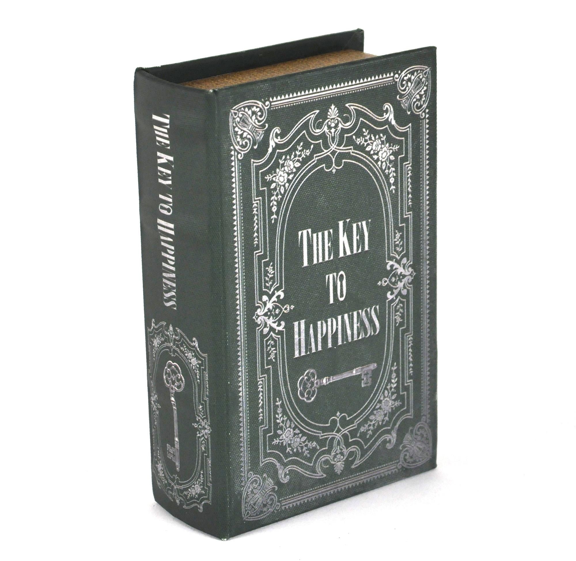 Hardback Book Secret Safe The Key To Happiness