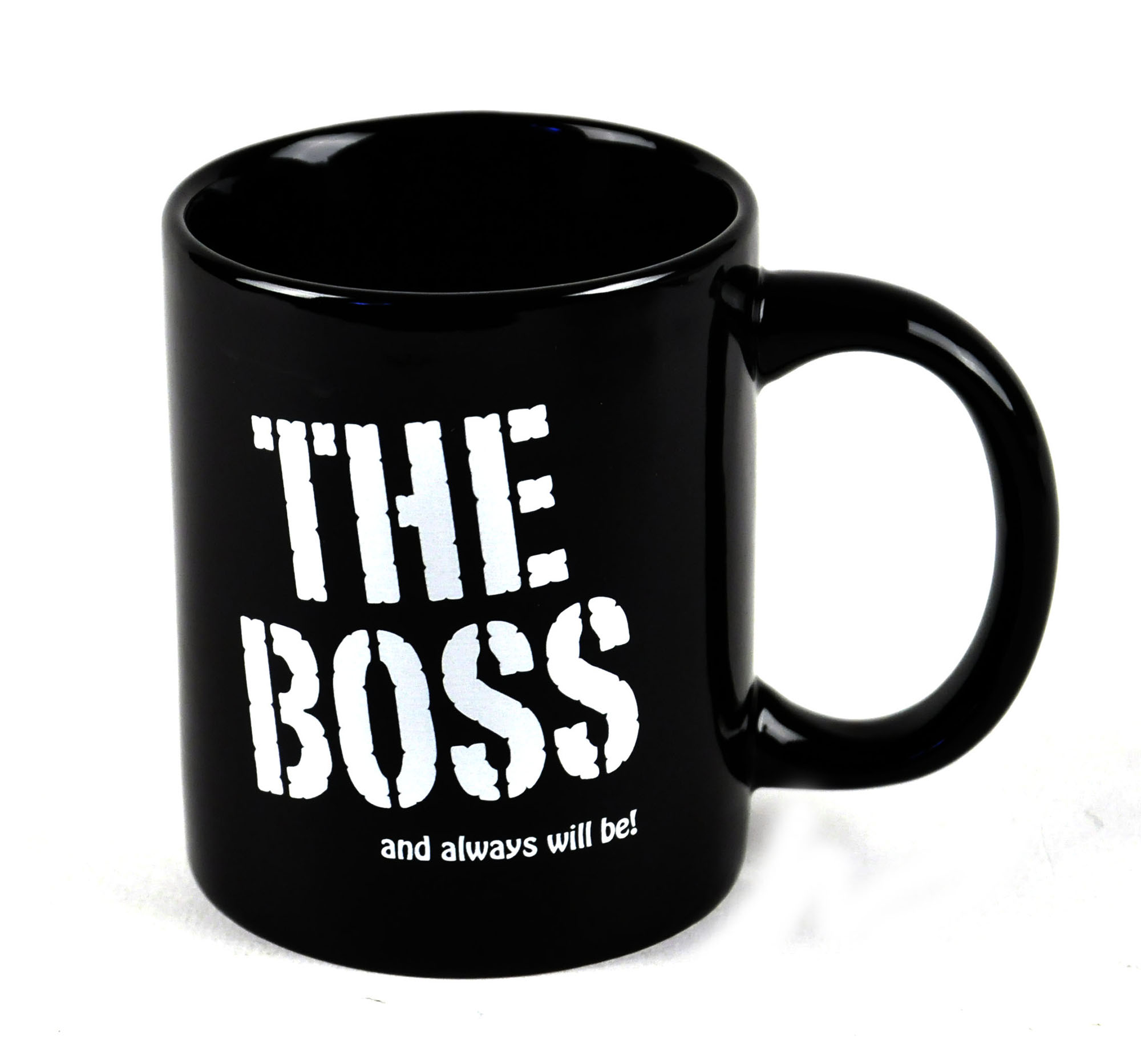 The Boss And Always Will Be Mug Pink Cat Shop