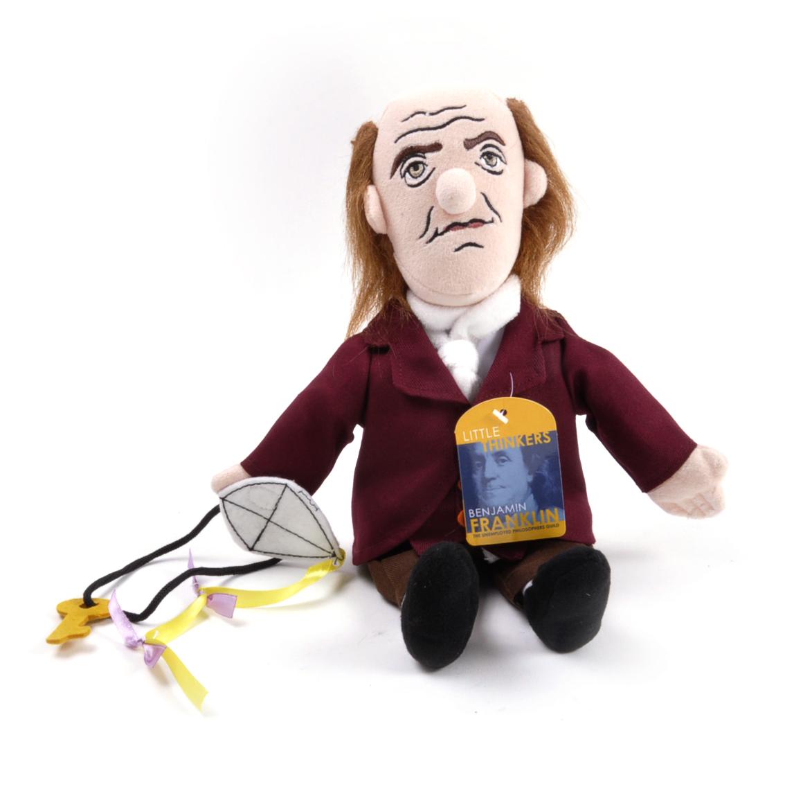 Benjamin Franklin Soft Toy