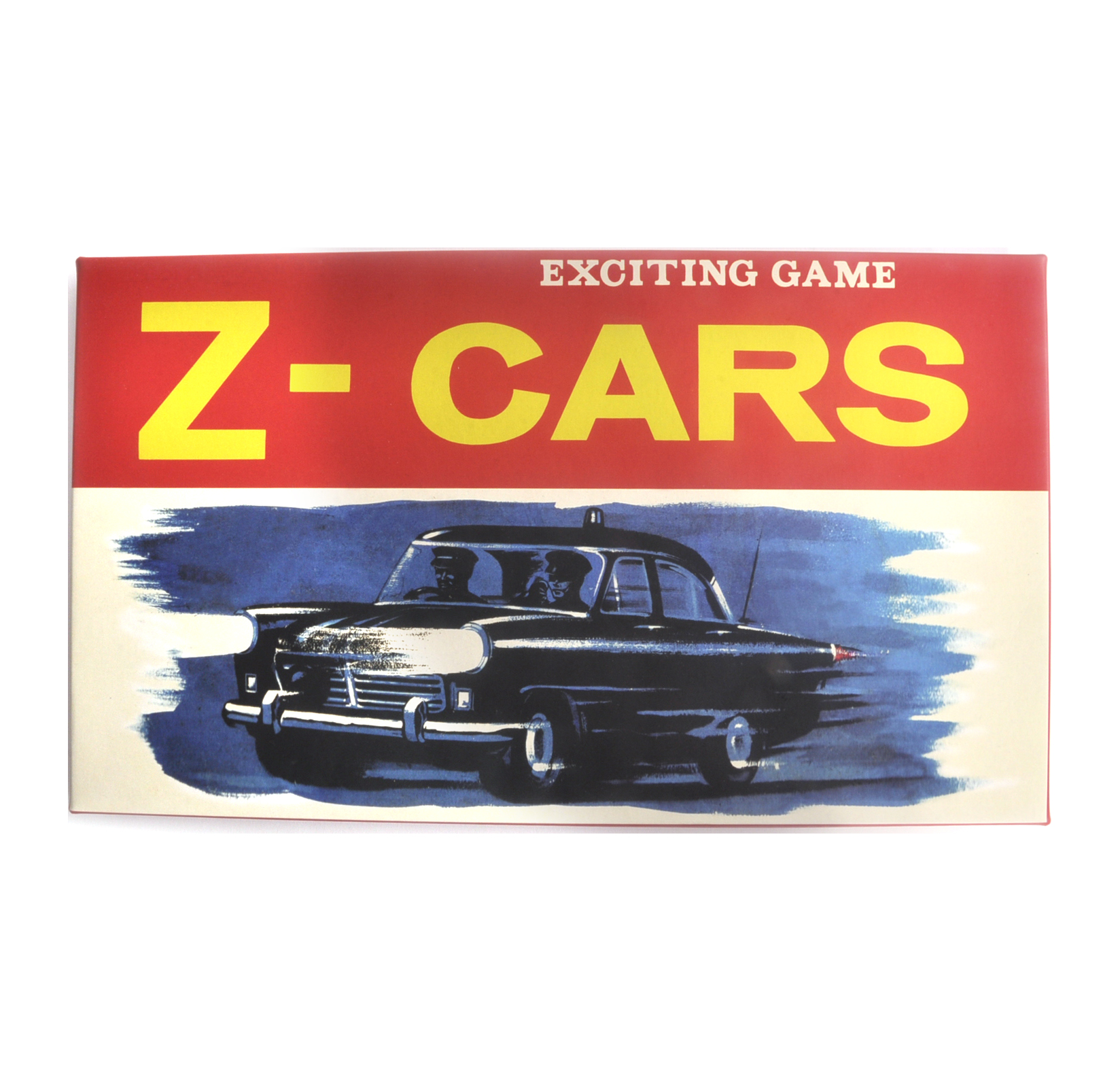 Z Cars The Classic 1960s TV Series Retro Board Game
