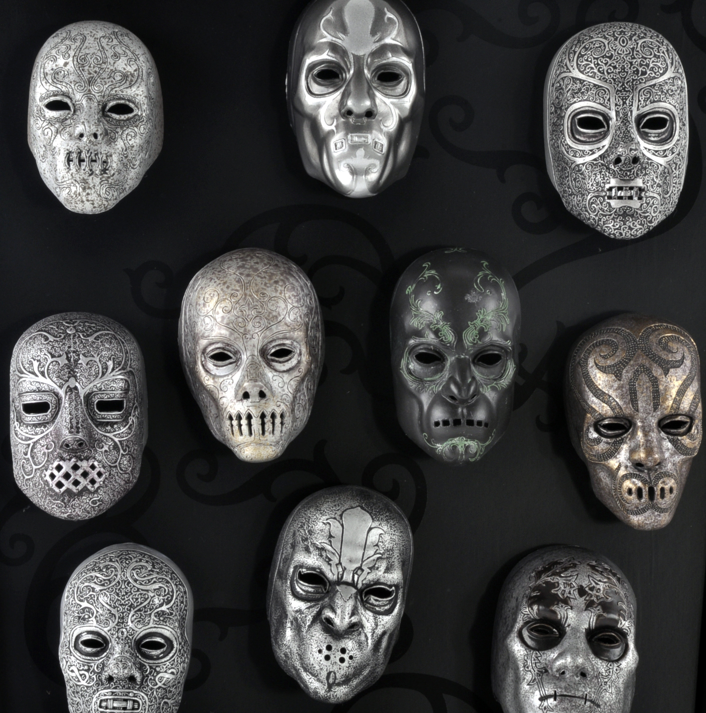 Death Eater Mask Collection Noble Collection Harry