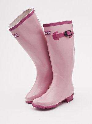 Mill Outlets - Ladies glitter fashion wellies.