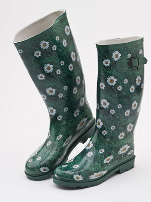 Mill Outlets - Ladies Daisy Wellies