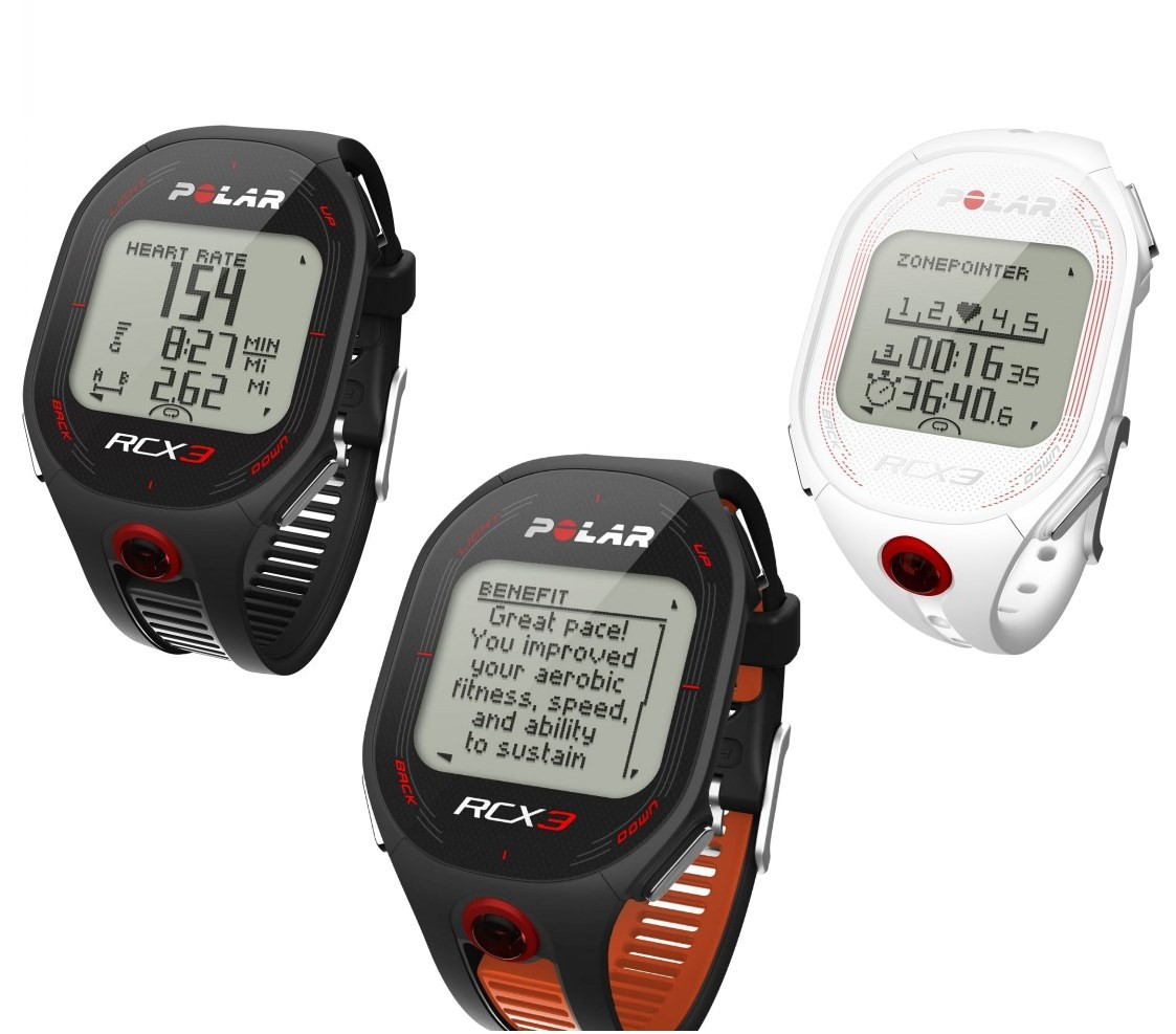 Polar Rcx3 Hrm Heart Rate Monitor Fitness Sports Exercise