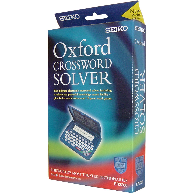 Seiko Electronic Oxford Crossword Anagram Solver Spell