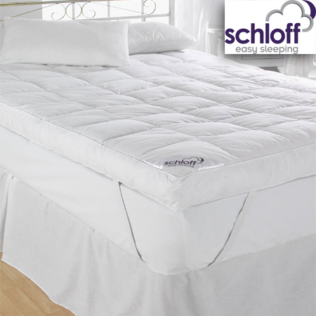 5 Schloff Duck Feather Down Mattress Topper Single Double Super King Size