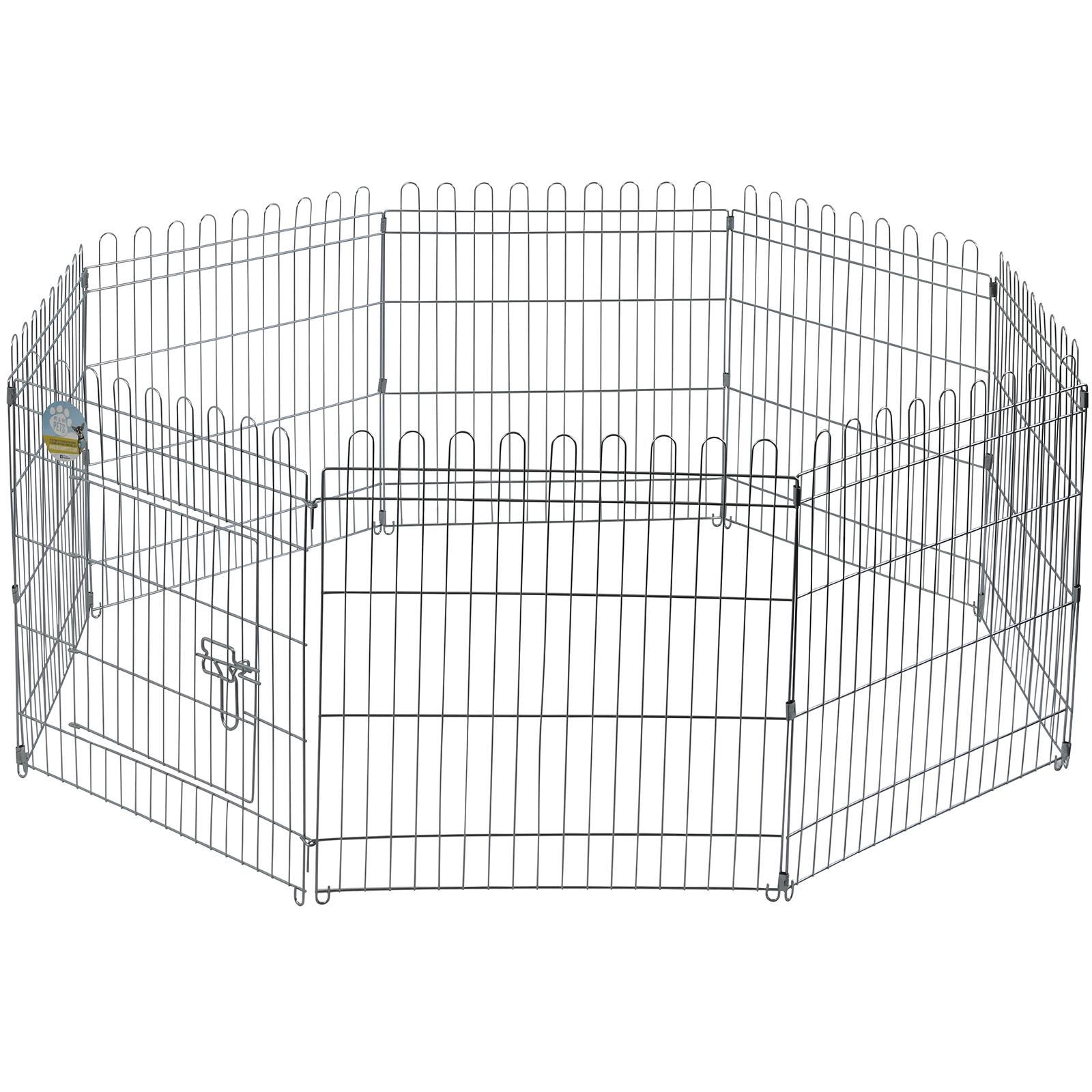 Me Amp My Pets Medium Folding Playpen Cage Amp Floor Mat Dog Puppy Rabbit Garden Run