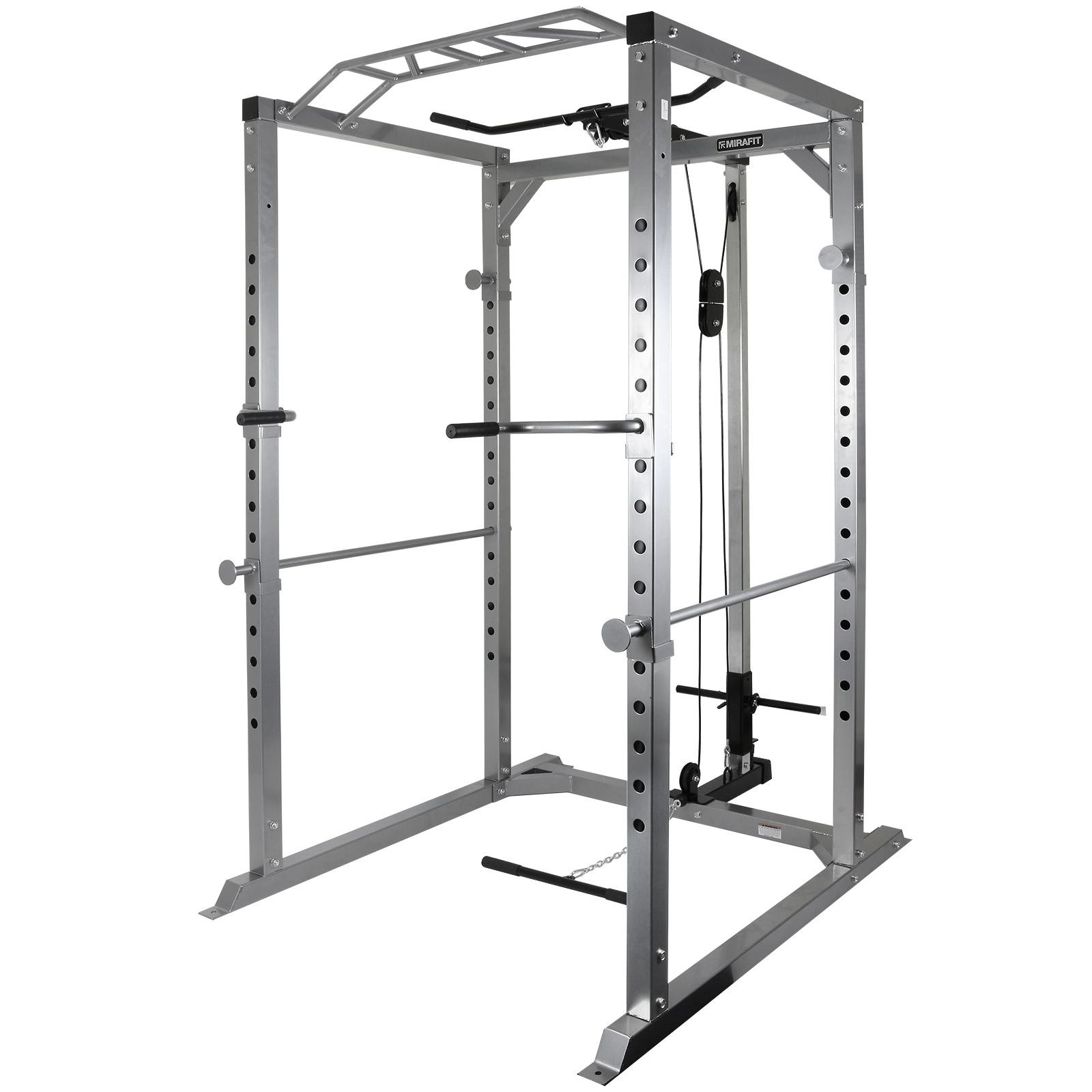 Mirafit 350kg Heavy Duty Olympic Power Cage Squat Rack