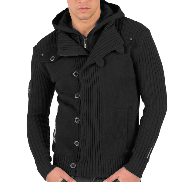 G Star Mens Button Cardigan